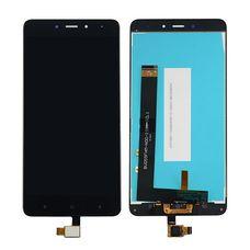 Дисплей Xiaomi REDMI NOTE 4 Черный (в сборе с тачскрином)