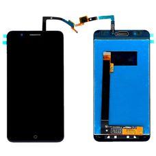 Дисплей ZTE Blade A610 PLUS Черный (экран + тачскрин, стекло) ОРИГИНАЛ