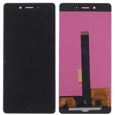 Дисплей ZTE NUBIA Z11 Черный (экран + тачскрин, стекло) ОРИГИНАЛ