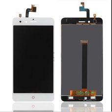 Дисплей ZTE NUBIA Z11 mini Белый (экран + сенсор) ОРИГИНАЛ