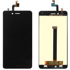 Дисплей ZTE NUBIA Z11 mini Черный (экран + тачскрин, стекло) ОРИГИНАЛ