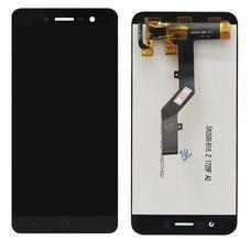 Дисплей ZTE Blade A520 Черный ОРИГИНАЛ (экран + тачскрин, стекло)