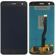 Дисплей ZTE Blade V8 Lite Черный (экран + тачскрин, стекло)