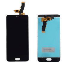 Дисплей Meizu M5S Черный (экран + тачскрин, стекло)