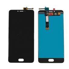 Дисплей Meizu U20 черный ОРИГИНАЛ (экран + тачскрин, стекло)