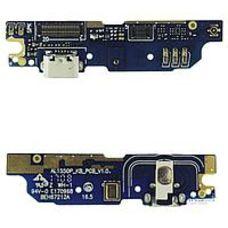 Разъем зарядки Meizu M3 NOTE L681 micro USB на плате + микрофон