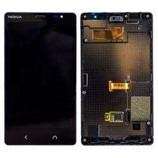 Дисплей Nokia X2 / Dual RM-1013 черный (модуль, в сборе)
