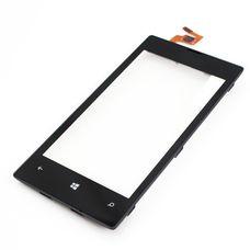 Тачскрин Nokia Lumia 520 525 в рамке черный Microsoft (Touchscreen)