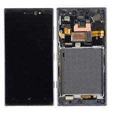 Дисплей Nokia Lumia 830 черный Microsoft (модуль, в сборе)