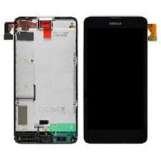 Дисплей Nokia Lumia 630 635 RM-976 RM-978 RM-979 RM-974 черный Microsoft (модуль, в сборе)