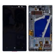 Дисплей Nokia Lumia 930 черный Microsoft (модуль, в сборе)