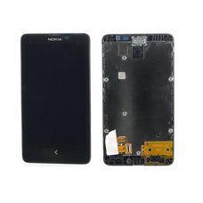 Дисплей Nokia X Dual RM-980 черный (модуль, в сборе)