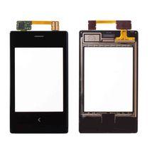 Тачскрин Nokia Asha 503 DUAL SIM черный (Touchscreen) сенсорное стекло