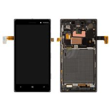 Дисплей Nokia Lumia 830 RM-984 В РАМКЕ (экран+тачскрин, сенсорное стело)