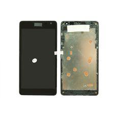 Дисплей Nokia Lumia 535 RM-1090 rev.2S Черный (экран + тачскрин, стекло)