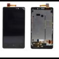 Дисплей Nokia Lumia 820 RM-825 В РАМКЕ (экран+тачскрин, сенсорное стело)