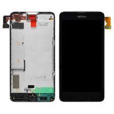 Дисплей Nokia Lumia 630 635 черный Microsoft (модуль, в сборе)