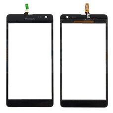 Тачскрин Nokia Lumia 535 REV 2S черный (сенсорное стекло)